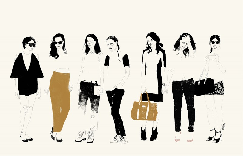 LADIES - fashion illustration