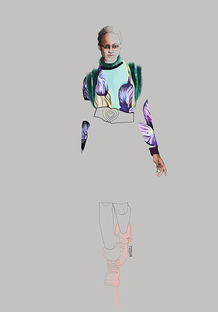 Fashion illustration_Manish Arora