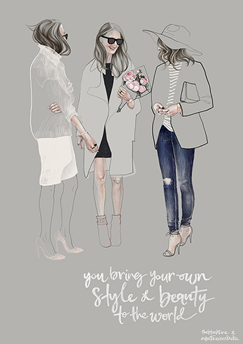 Illustration Fashion On Pinterest Fashion Illustrations